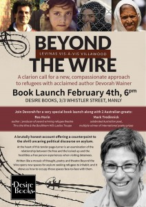 Beyond The Wire Book Launch Flyer2